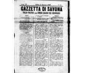 La Gazzetta di Savona 1868