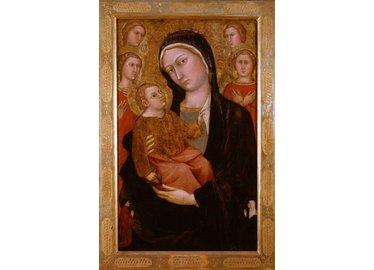 TADDEO DI BARTOLO, Madonna con Bambino