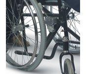 carozzina disabile
